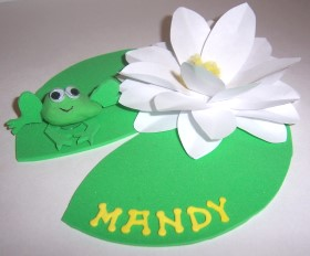 Name Setting – Water Lilly