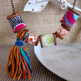 DIY Necklace – Wooden Spool