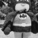 Crochet Batman Doll