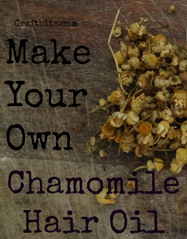 DIY Chamomile Hair Oil