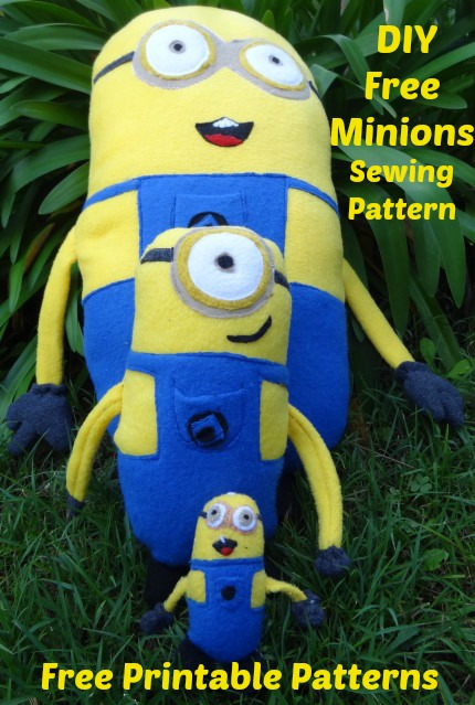 Despicable Me Minion Sewing Pattern