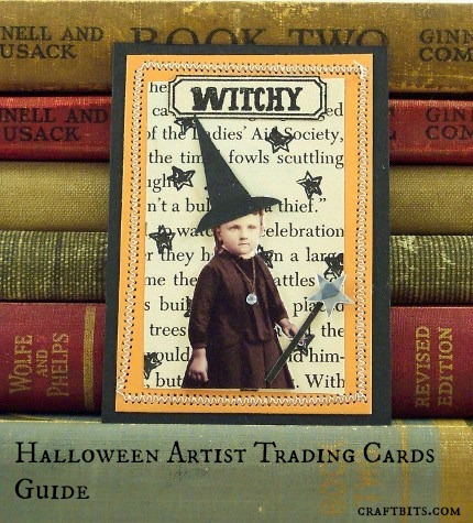 Halloween Artist Trading Cards Guide
