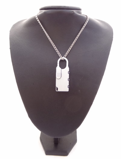 Pendant – Mens Reclaimed Lock-et