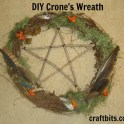 Crone's Wreath: Halloween Project