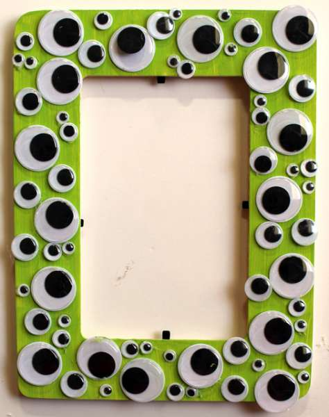 Halloween Googly Eye Frame