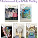 Win 4 yards of Jute webbing and 5 patterns from Kenzie Mac