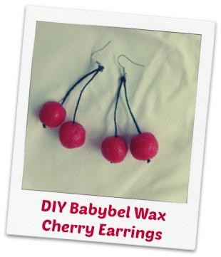 Earrings – Babybel Cherries