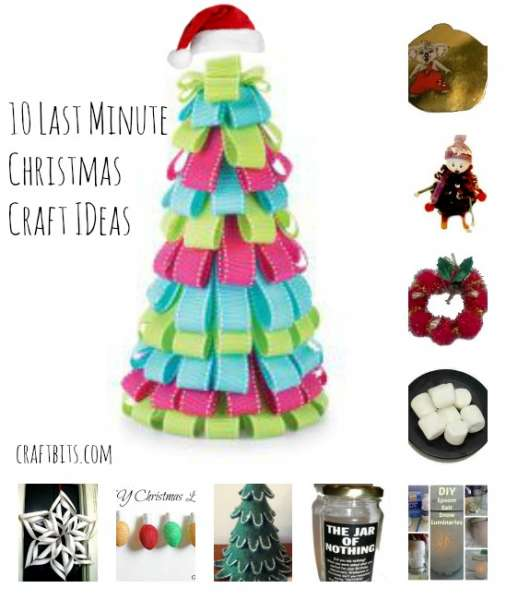 Ten Minute Decorating Ideas: 10 Last Minute Christmas Craft And Gift Ideas
