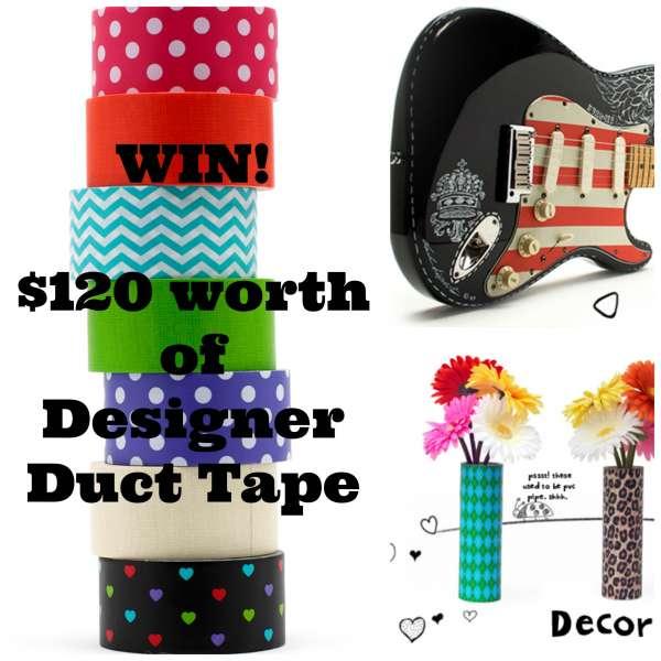 Win $120 worth of Designer Duct Tape