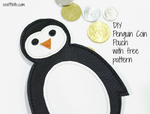 Penguin Coin Pouch