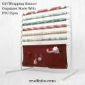 DIY Gift Wrapping Organizer/ Station