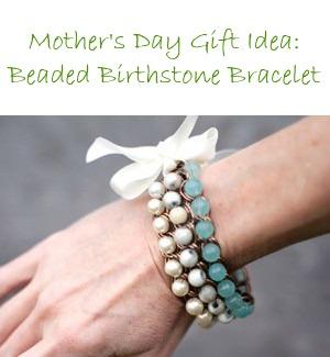 Bracelet – Beaded Birthstone Chain