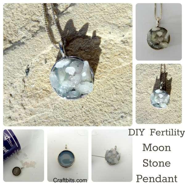 Make a Fertility Moonstone Pendant