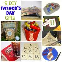 9 DIY Father's Day Gifts