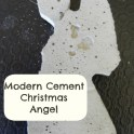 Tree Decoration - Cement Angel