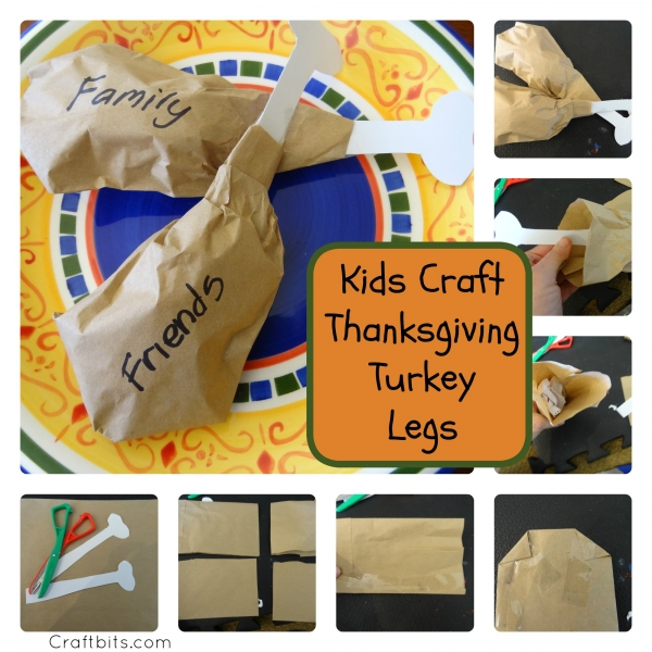 Thanksgiving Turkey Legs Decoration