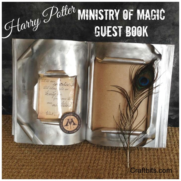 Harry Potter Ministry Of Magic Guest Book Halloween