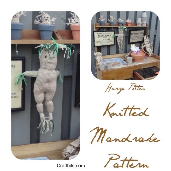 Harry Potter Knitted Mandrake Pattern