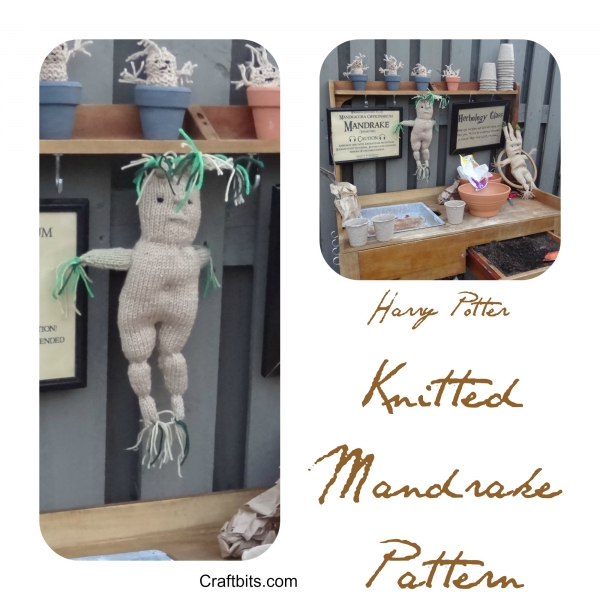 Harry Potter Knitted Mandrake Pattern