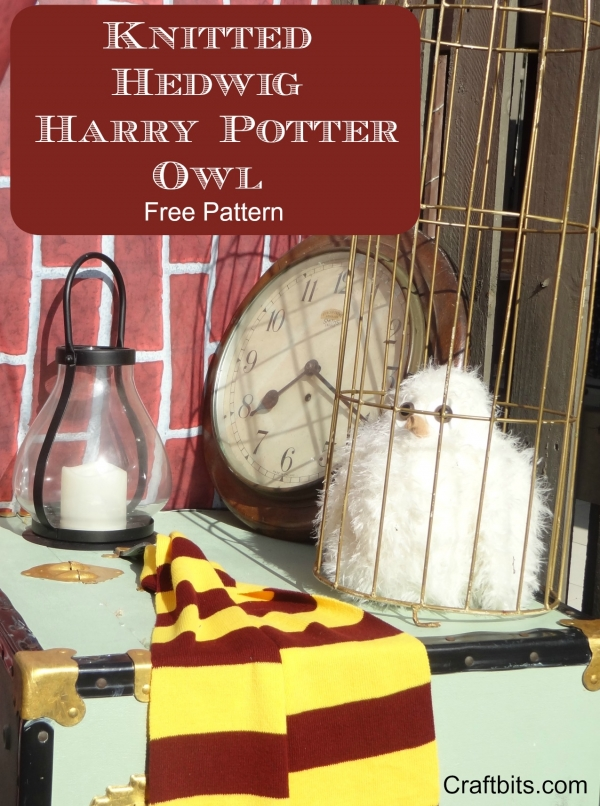 Harry Potter Hedwig Owl Knitting Pattern