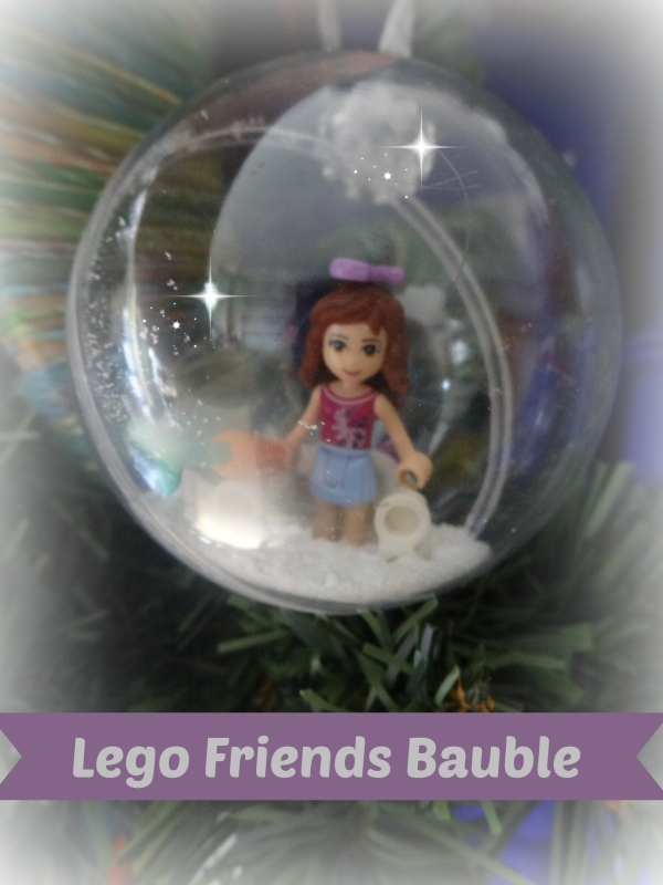 Tree Ornament  Lego Friends  Christmas Crafts  craftbitscom