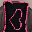 Heart Knit Pillow <3