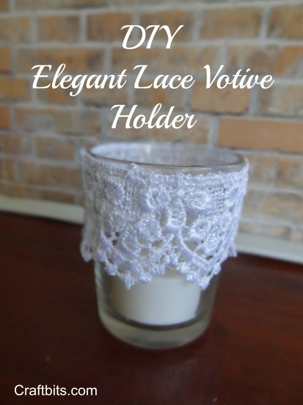 Romantic Lace Candle Holder