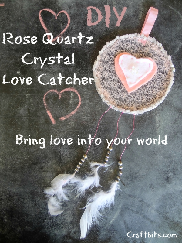 Crystal Love Dreamcatcher