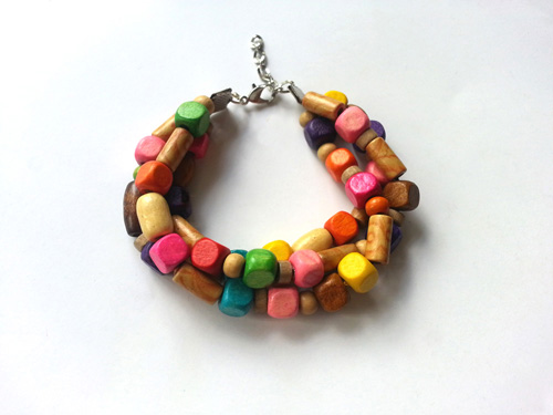 DIY Colorful Gypsy Bracelet