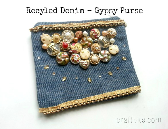 Recycled Denim: Make a Gorgeous Gypsy Purse