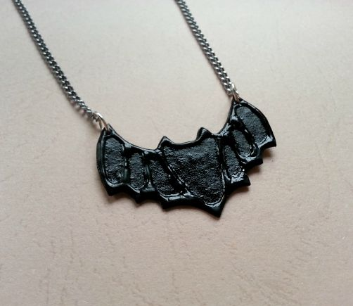 Make An Easy Bat Pendant