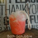 How to Make A Bath Scrubbie Soap
