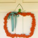 Pumpkin Puzzle Wreath
