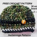Crochet A Kids Unisex Beanie In 30 Minutes