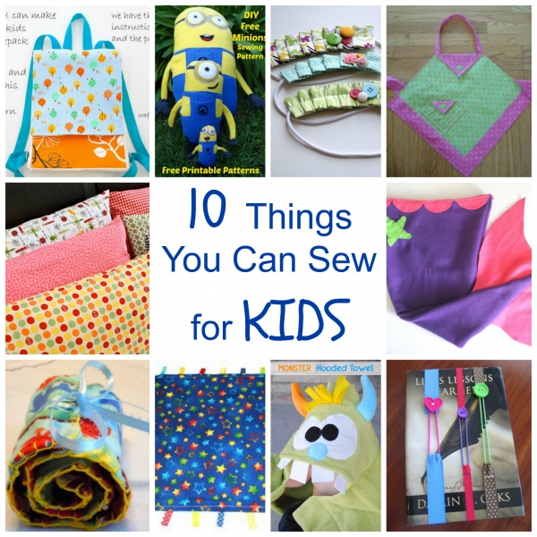 10 Things You Can Sew For Kids Craftbits Com