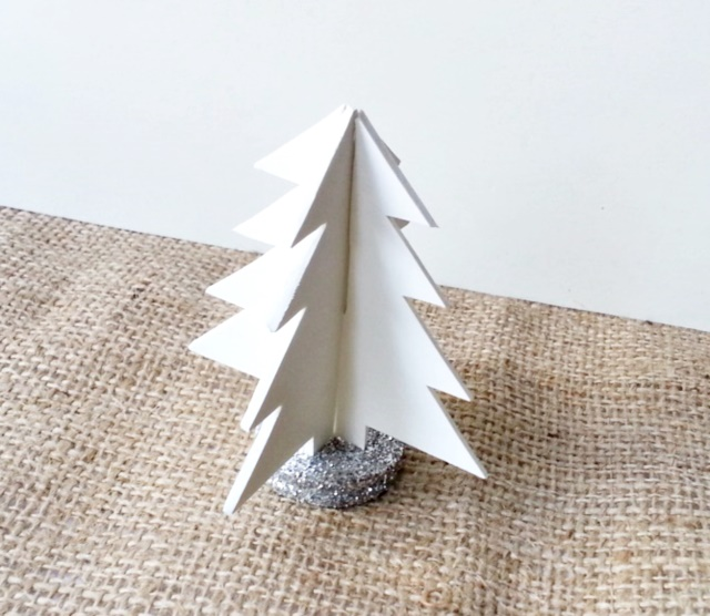 How To Make A 3D Christmas Tree Christmas Crafts Craftbits Com - Make 3d Christmas Tree