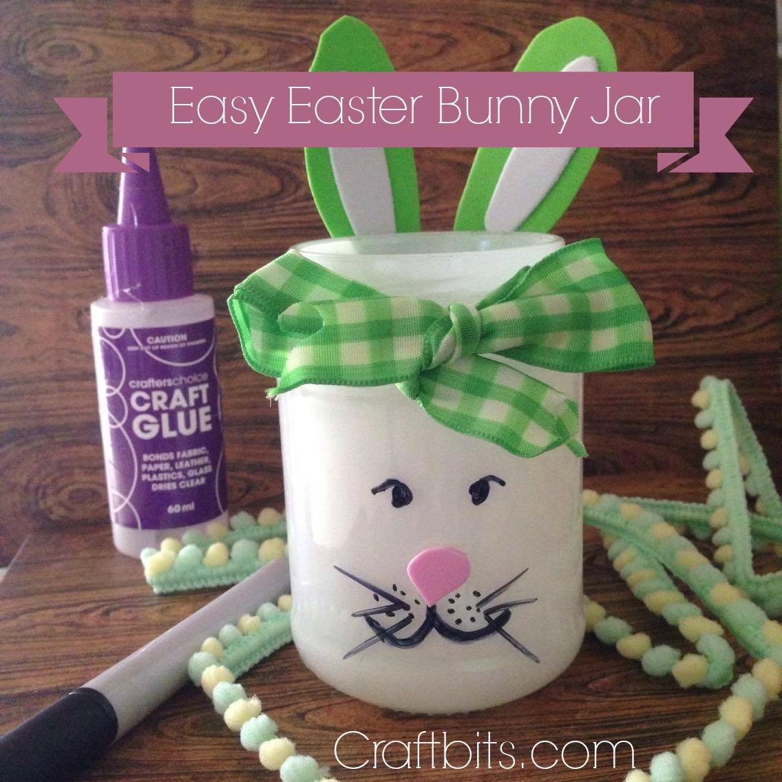 The Mason Jar Easter Bunny