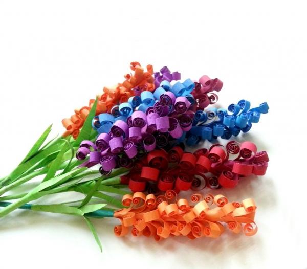 DIY Origami: Paper Hyacinth Flowers