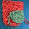 Easy Crocheted Treasure Bags