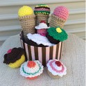 Crochet Cupcake and Ice Cream Pattern