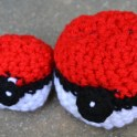 crocheted pokeballs pattern