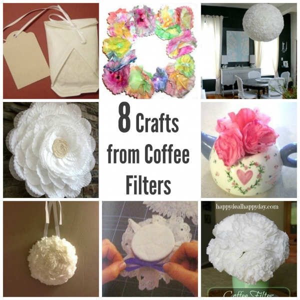crafts with coffee filters 8 crafts to make from coffee filters craftbits 4155