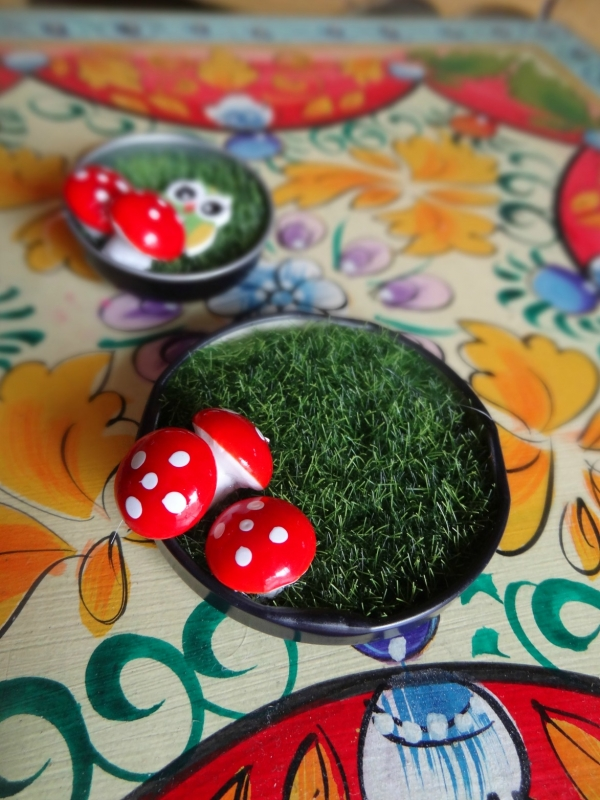 Mini Fairy Garden Magnets