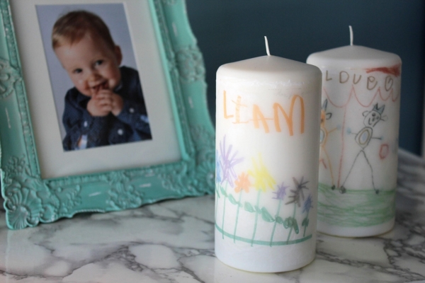 Candle photo transfer