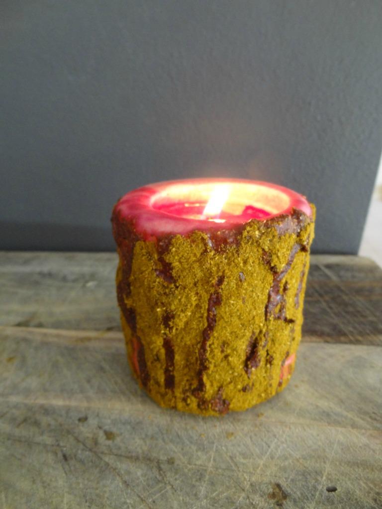 Cinnamon Grubby Candles