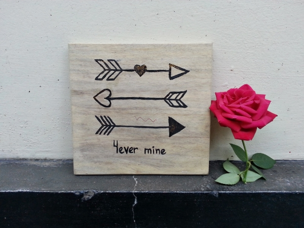 Cupids Love Arrows Wall Art