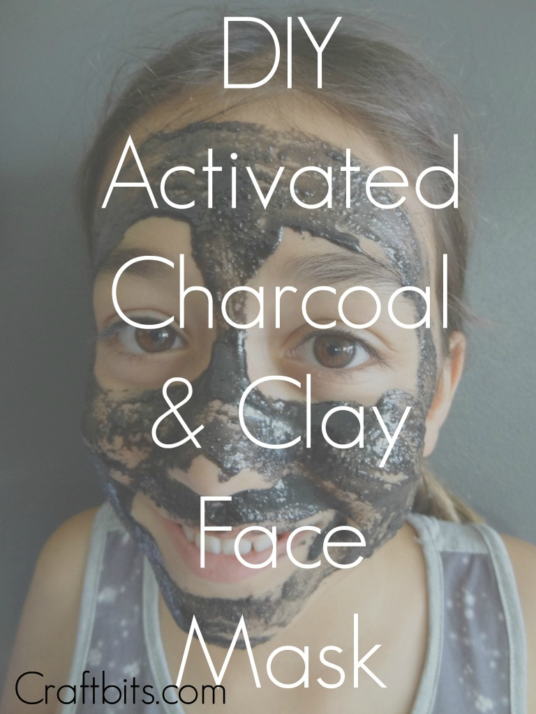 activated charcoal clay face mask home crafts. Black Bedroom Furniture Sets. Home Design Ideas