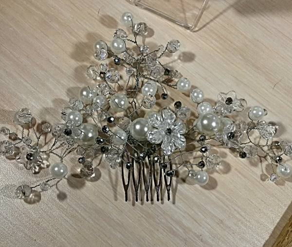 DIY Beautiful Bridal Comb