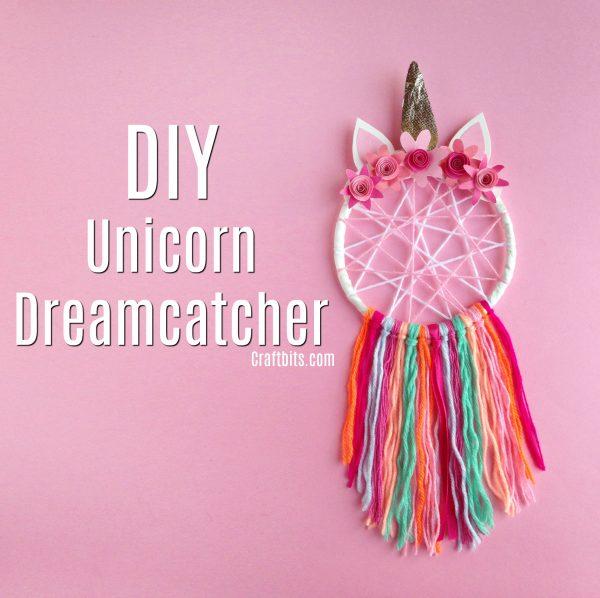 How to make a Unicorn Dreamcatcher