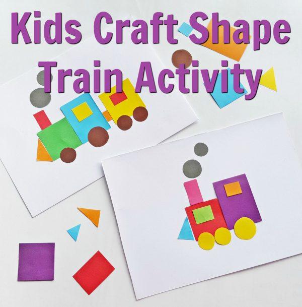 Kids Craft Train Activity